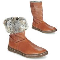 Schuhe Mädchen Klassische Stiefel Achile DUBROVNIK Cognac