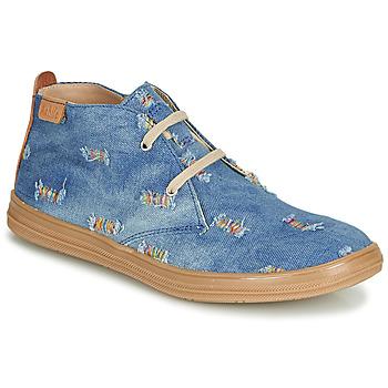 Schuhe Mädchen Sneaker High Achile ANDREA Blau