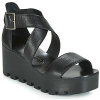 Chaussures Femme Sandales et Nu-pieds Sweet Lemon SUBWAY Noir