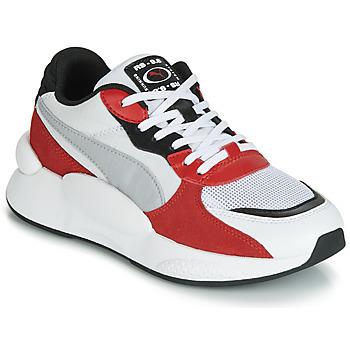 Chaussures Enfant Baskets basses Puma RS-98 SPACE JUNIOR Blanc / Rouge