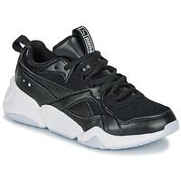 Schuhe Damen Sneaker Low Puma NOVA 2. W Schwarz