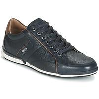 Schuhe Herren Sneaker Low BOSS SATURN LOWP TBPF1 Marineblau
