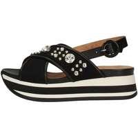 Chaussures Femme Sandales et Nu-pieds Janet Sport 43758 NOIR