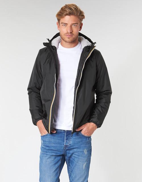 Kleidung Herren Jacken K-Way LE VRAI 3.0 CLAUDE ORSETTO Schwarz