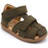 Chaussures Garçon Sandales et Nu-pieds Shoo Pom pika scratch vert
