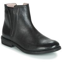 Schuhe Mädchen Boots Acebo's 9671-NEGRO-T Schwarz