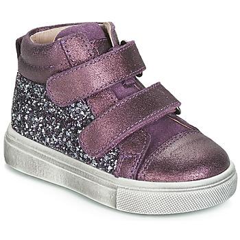 Schuhe Mädchen Sneaker High Acebo's 5299AV-LILA-C Violett
