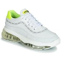 Schuhe Damen Sneaker Low Bronx BUBBLY Weiss / Gelb