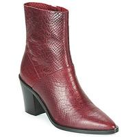Schuhe Damen Low Boots Bronx NEW AMERICANA LOW Bordeaux