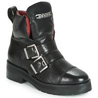 Chaussures Femme Boots Bronx GAMLETT Noir