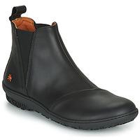 Schuhe Damen Boots Art ANTIBES Schwarz