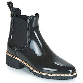 Chaussures Femme Bottes de pluie Lemon Jelly AVA Noir / Or