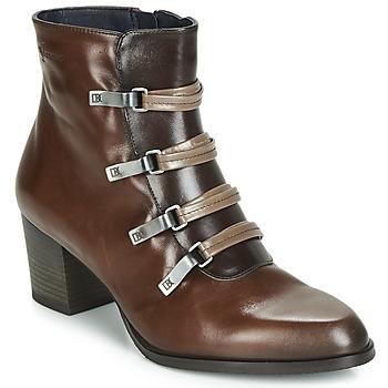 Schuhe Damen Low Boots Dorking ZUMA Kamel