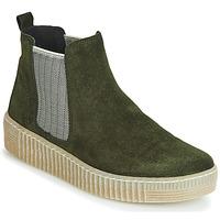 Schuhe Damen Boots Gabor 3373111 Grün