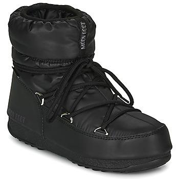 Scarpe Donna Stivali da neve Moon Boot MOON BOOT LOW NYLON WP 2 Nero