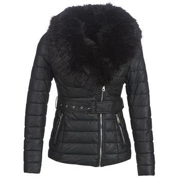 Vêtements Femme Doudounes Moony Mood LOUVE Noir