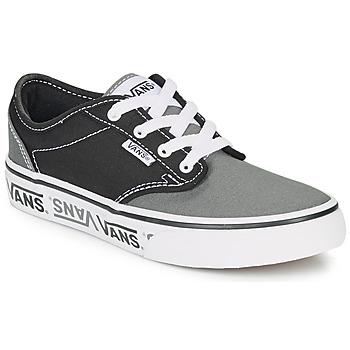 Scarpe Unisex bambino Sneakers basse Vans YT ATWOOD NR Nero