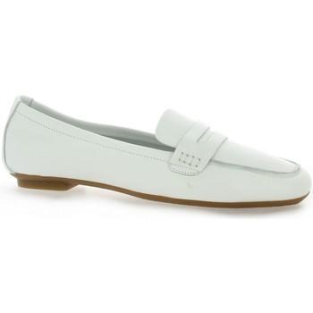 Chaussures Femme Mocassins Reqin's Mocassins cuir Blanc