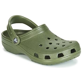 Schuhe Pantoletten / Clogs Crocs CLASSIC Kaki