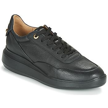 Schuhe Damen Sneaker Low Geox RUBIDIA Schwarz