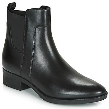 Chaussures Femme Boots Geox FELICITY Noir