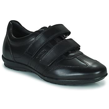Chaussures Homme Baskets basses Geox UOMO SYMBOL Noir