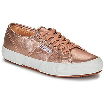 Schuhe Damen Sneaker Low Superga 2750 COTMETU Rose