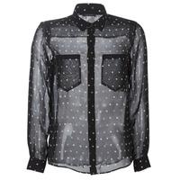 Kleidung Damen Hemden Ikks BP12165-02 Schwarz