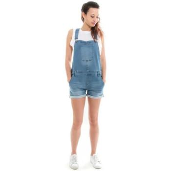 Vêtements Femme Combinaisons / Salopettes Waxx Salopette joggjean ATLANTIC Bleu