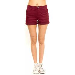 Vêtements Femme Shorts / Bermudas Waxx Short Chino BOMBA Rouge Cerise