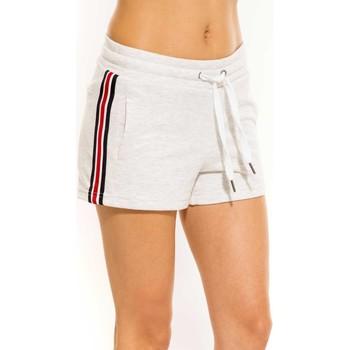 Vêtements Femme Shorts / Bermudas Waxx Short Survêtement MARIA Blanc