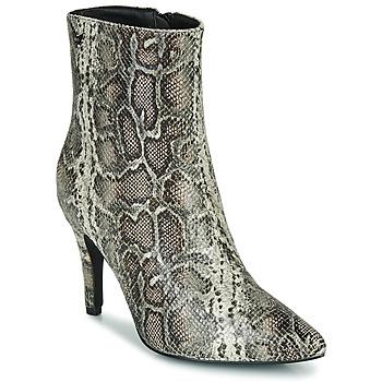 Schuhe Damen Low Boots Les Petites Bombes ENAEL Braun