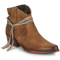 Schuhe Damen Boots Felmini SERRAJE Braun