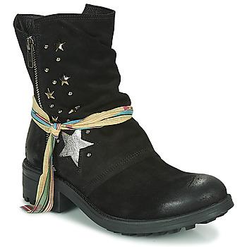 Schuhe Damen Boots Felmini AZAFRINO Schwarz