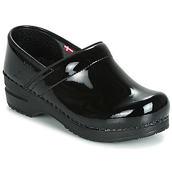 Chaussures Femme Sabots Sanita PROF Noir