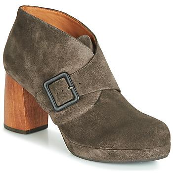 Schuhe Damen Ankle Boots Chie Mihara QUIRINA Grau