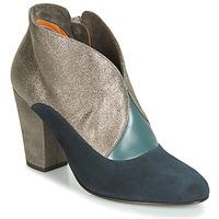 Schuhe Damen Low Boots Chie Mihara ELGI Silbrig / Marineblau