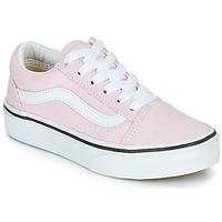 Chaussures Fille Baskets basses Vans UY OLD SKOOL Rose