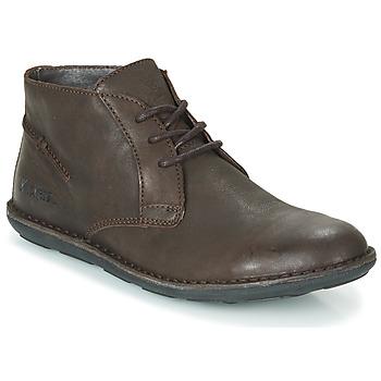 Schuhe Herren Boots Kickers SWIBO Braun,