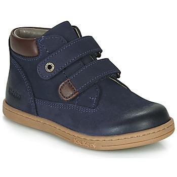 Chaussures Garçon Boots Kickers TACKEASY Marine