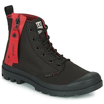 Schuhe Boots Palladium PAMPA UNZIPPED Schwarz