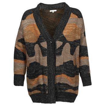 Abbigliamento Donna Gilet / Cardigan See U Soon DUZIR Multicolore