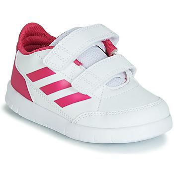 Schuhe Mädchen Sneaker Low adidas Performance ALTASPORT CF I Weiss / Rose