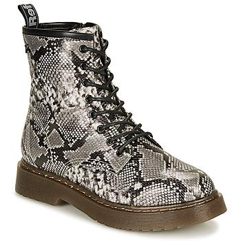 Chaussures Femme Boots Refresh 69311-BLACK Gris