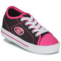 Schuhe Mädchen Rollschuhe Heelys CLASSIC X2 Schwarz / Rose