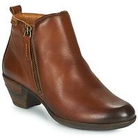 Schuhe Damen Low Boots Pikolinos ROTTERDAM 902 Cognac