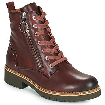 Chaussures Femme Boots Pikolinos VICAR W0V Marron