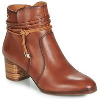 Schuhe Damen Low Boots Pikolinos CALAFAT W1Z Braun