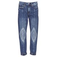 Kleidung Damen Boyfriend Jeans G-Star Raw 3301-L MID BOYFRIEND DIAMOND Blau