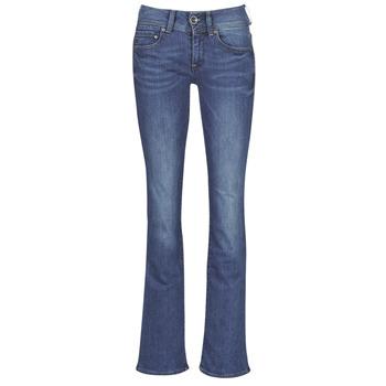 Abbigliamento Donna Jeans bootcut G-Star Raw MIDGE MID BOOTCUT WMN Blu / Blue